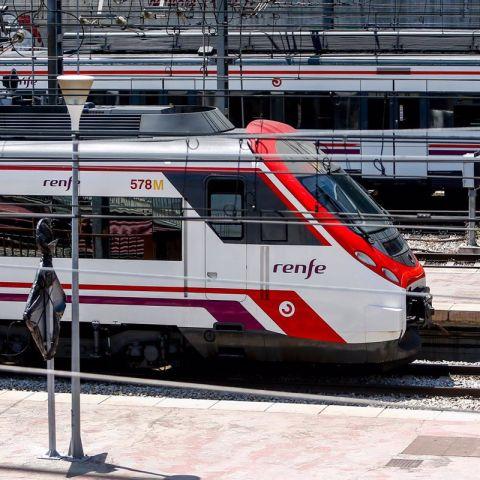 Imagen de archivo de un tren de cercanías de Renfe
