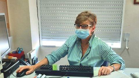 La doctora Paloma Vela, jefa de Sección de Reumatología