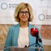 La delegada de Cultura, Esther García