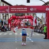 Nuno Costa llegando a la meta