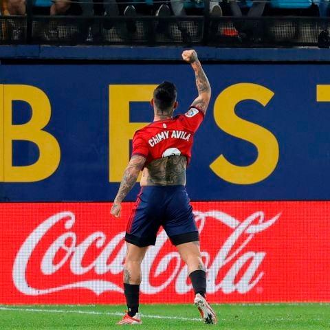 Chimy Ávila regala el triunfo a Osauna y acaba con el invicto Villarreal