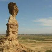 Los Monegros es una de las comarcas más despobladas de la provincia