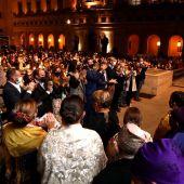 """El """"Abrazo de la Jota a la Virgen"""", puso el colofón el domingo a los actos del Pilar"""