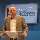 Pedro Muriel regresa al ayuntamiento de Cáceres como concejal del PP