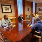 Reunión fuerzas vivas de As Pontes con el Delegado del Gobierno en Galicia