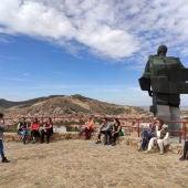 El monumento al Minero de Puertollano