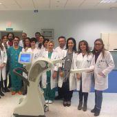 El Hospital Miguel Servet empezó a aplicar la radioterapia intraoperatoria en el año 2015