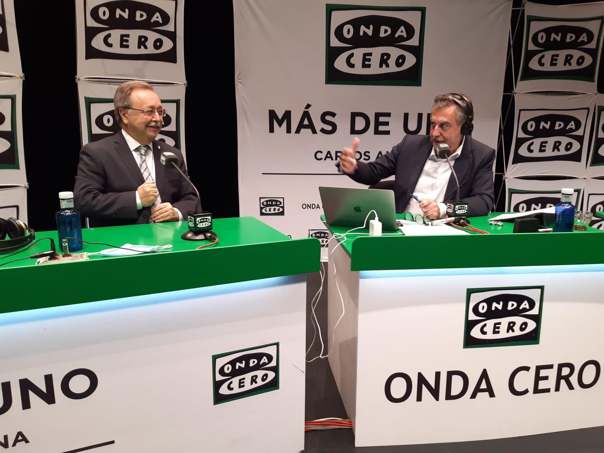 """Juan Jesús Vivas, presidente de Ceuta: """"La frontera del Tarajal tiene que abrir en condiciones distintas, para evitar la inmigración ilegal"""""""