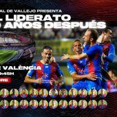 El Levante UD recuerda su liderato del 2011