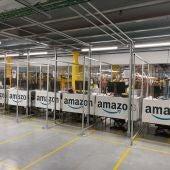 Amazón creará 1.200 empleos fijos en su nuevo centro robotizado de Corvera