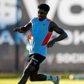 Thierry Rendall sigue siendo duda para el partido ante el Mallorca