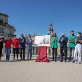 Presentación de la Regata en la azotea del Ayuntamiento de Sevilla