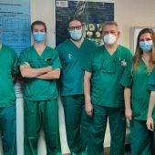El equipo del Servicio de Cirugía Torácica del Hospital General Universitario de Alicante (HGUA)