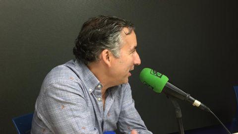 Javier Pereira entrenador del Levante UD en Onda Deportiva Valencia