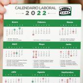 Calendario laboral 2022: festivos y tres grandes puentes