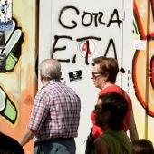 Pintadas de apoyo a ETA