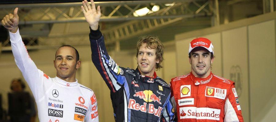 Alonso partirá tercero en la carrera