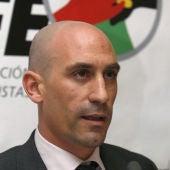 Luis Rubiales, presidente de la AFE