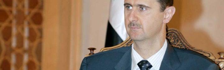 ¿Cree que la solución para Siria pasa por la salida del poder del presidente Al Assad?