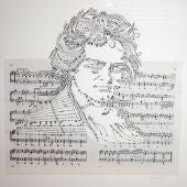 Beethoven en pentagrama