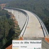 Tren de alta velocidad (AVE) en Galicia