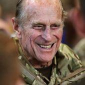 El Duque de Edimburgo, Felipe de Inglaterra,en Bad Fallingbostel, Alemania.(ARCHIVO)