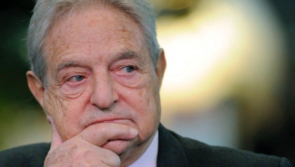 George Soros, empresario multimillonario estadounidense