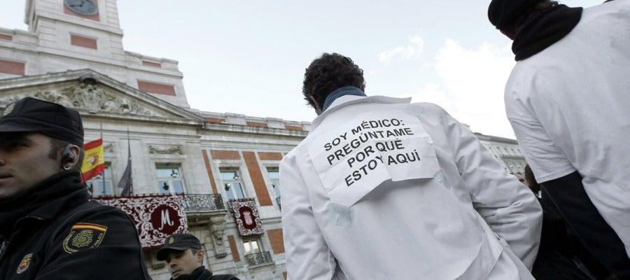 Huelga de Sanidad en Madrid