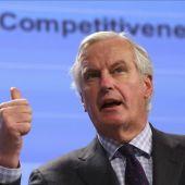 El comisario de Mercado Interior y Servicios Financieros, Michel Barnier.