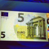 Billete de cinco euros