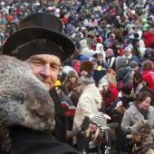 La marmota Phil pronostica que la primavera llegará pronto