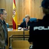 El miembro de los GRAPO Fernando Silva Sande en un juicio