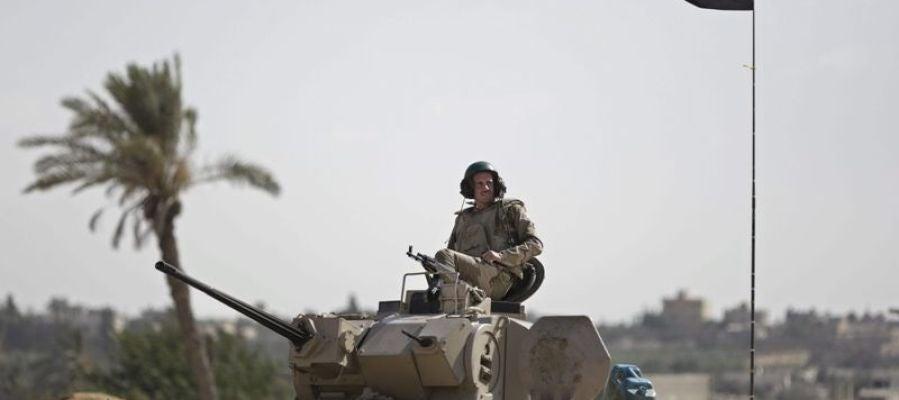 Un militar en Egipto