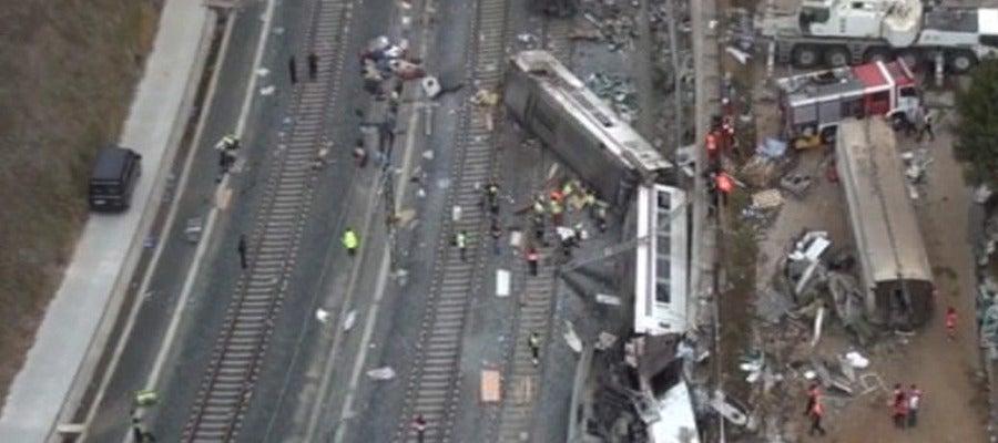 Accidente de tren en Santiago