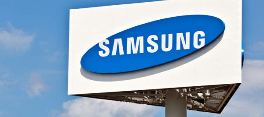 Cartel de Samsung