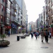 Calle Burgos de Santander