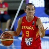 La jugadora de la selección española de baloncesto, Laia Palau