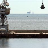 La plataforma de gas Castor.