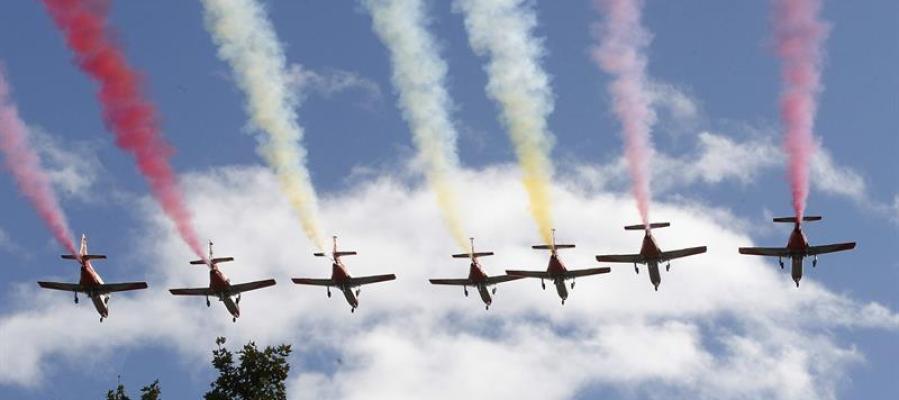 El despliegue del desfile militar del 12 de octubre cuesta al Estado 800.000 euros