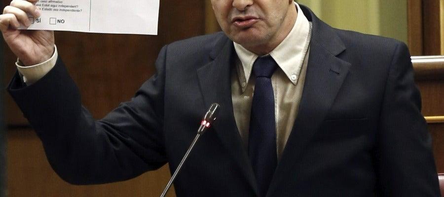 El diputado de Esquerra Republicana de Cataluña Alfred Bosch