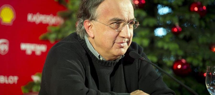 El presidente de Ferrari, Sergio Marchionne