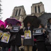 Movilizaciones por el ataque contra Charlie Hebdo