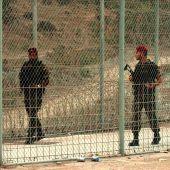 Militares de las Fuerzas Regulares, en Ceuta.