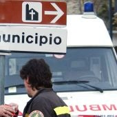 Ambulancia en Italia