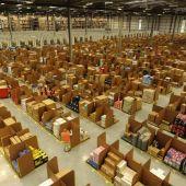 Un almacén de Amazon