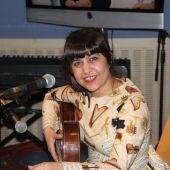 La cantante Maui Ramírez en Más de uno