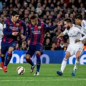 Real Madrid-Barcelona Liga