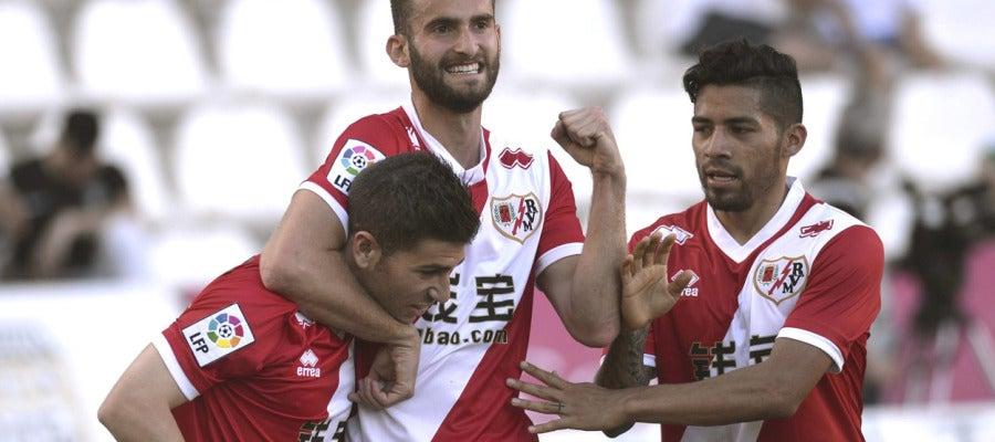 El Rayo vence en su visita a Córdoba
