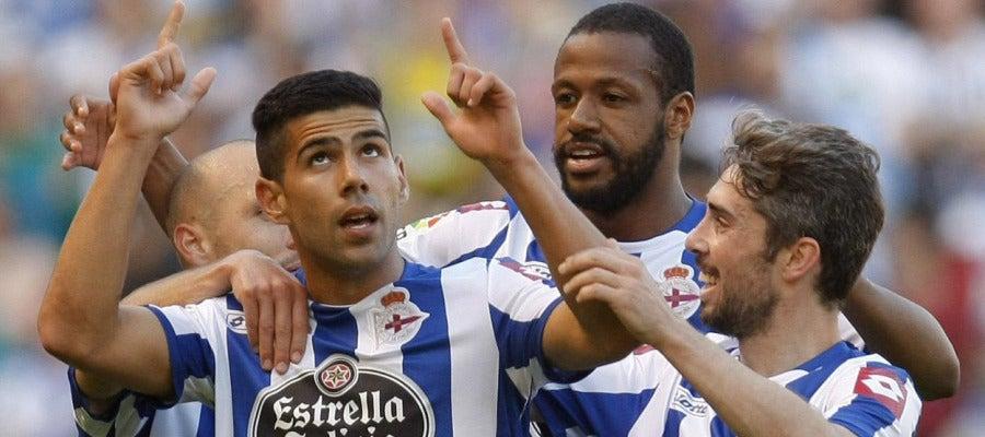 El Deportivo logra el triunfo ante el Levante