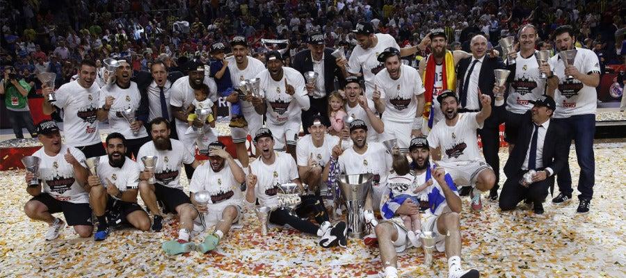 El Real Madrid campeón de la Euroliga